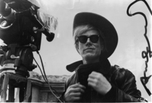 Andy WARHOL - Photography - Self-portrait on the set of »Lonesome Cowboys«