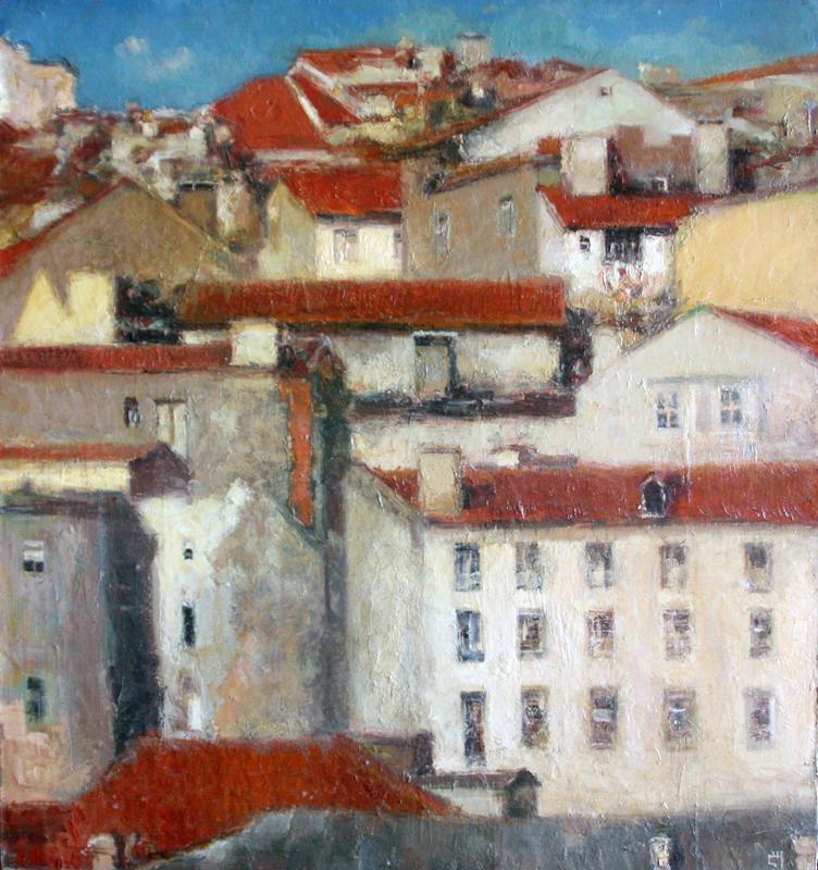 Levan URUSHADZE - Painting - City