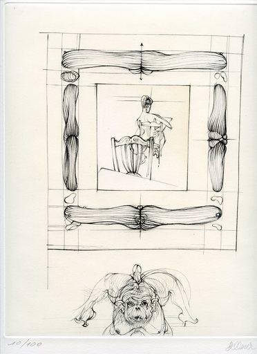Hans BELLMER - Grabado - GRAVURE 1973 SIGNÉE CRAYON NUM/100 HANDSIGNED ETCHING