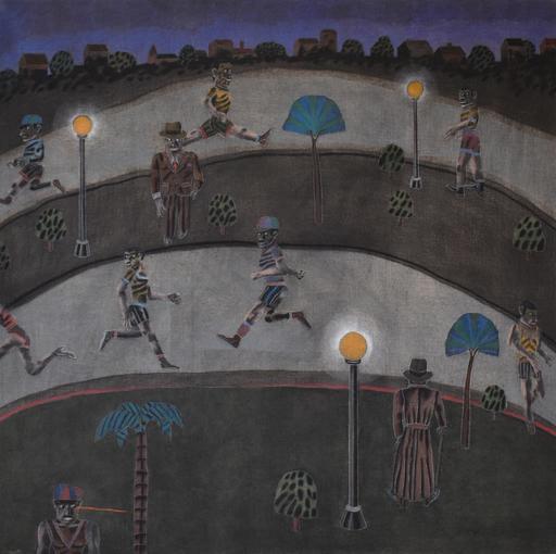Antonio SEGUI - Painting - ''JOGGERS''