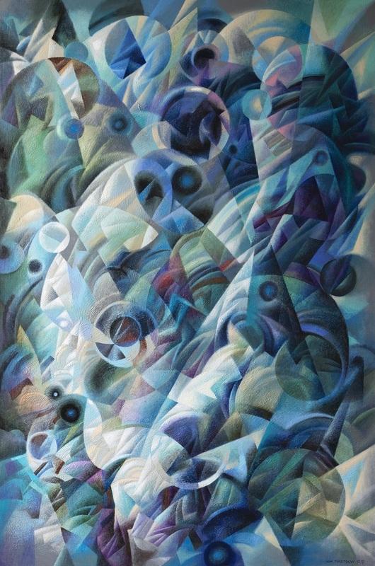 Ivan TURETSKYY - Peinture - From the depths