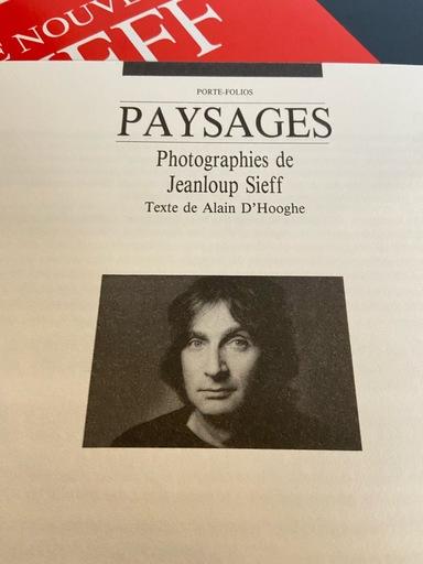 Jean-Loup SIEFF - Druckgrafik-Multiple - Porte Folios de paysages
