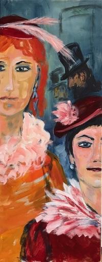 Antje SCHLAUD - Painting - Varieté