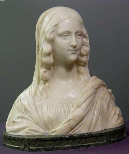 Adolfo CIPRIANI - Escultura - Mona Lisa