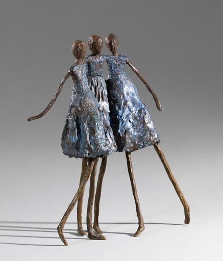Sylvie DERELY - 雕塑 - Les poulettes