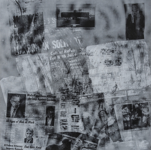 Robert RAUSCHENBERG - Stampa-Multiplo - Surface Series from Currents #42