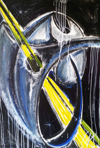 Vesna KRSMANOVIC - Painting - Scream    (Cat N° 4975)
