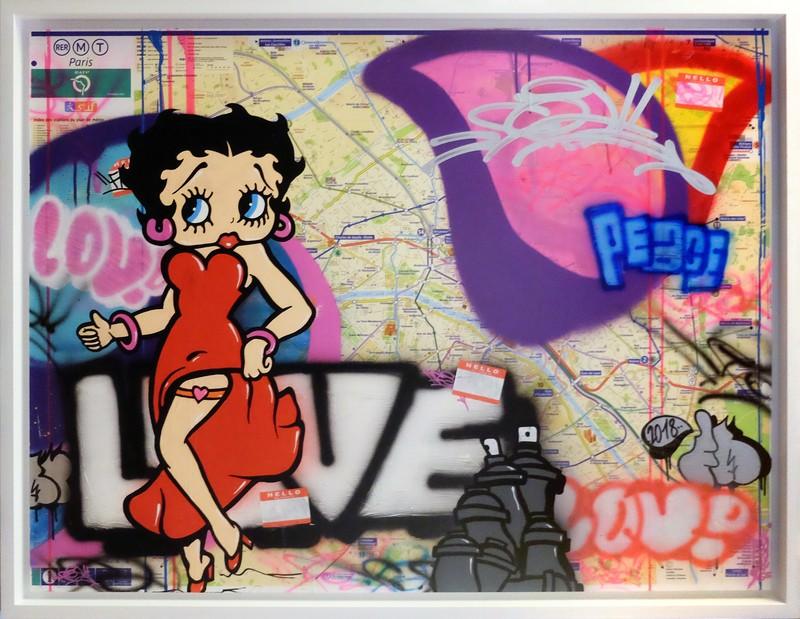 FAT - Peinture - Betty Boop