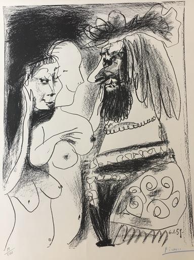 Pablo PICASSO - Print-Multiple - Le Vieux Roi