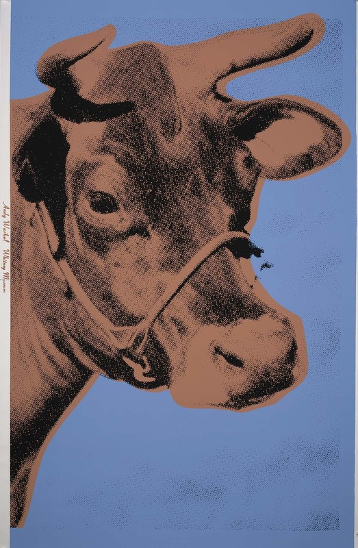 Andy WARHOL - Stampa-Multiplo - Cow (FS II.11A)