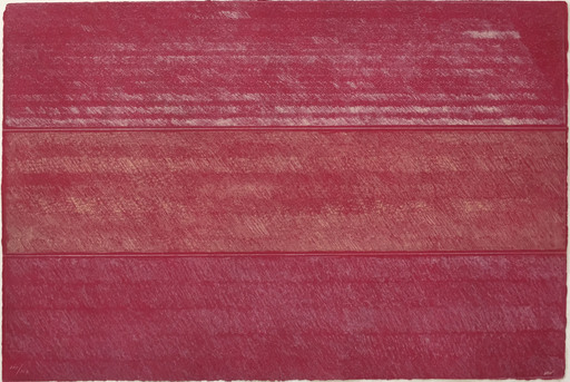 Kenneth NOLAND - Druckgrafik-Multiple - (Untitled)