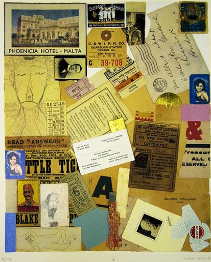 Peter BLAKE - Stampa-Multiplo - &