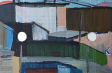 Tim TRANTENROTH - Painting - shacks k