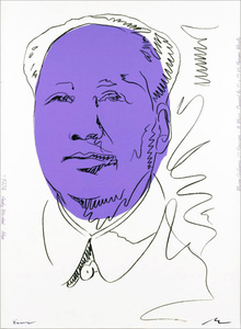 Andy WARHOL, Mao Wallpaper