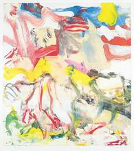 Willem DE KOONING (1904-1997) - Untitled - Figures and Landscape  #14/100