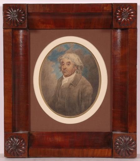 George MORLAND - Drawing-Watercolor - Self-Portrait ?, 1792, Watercolor