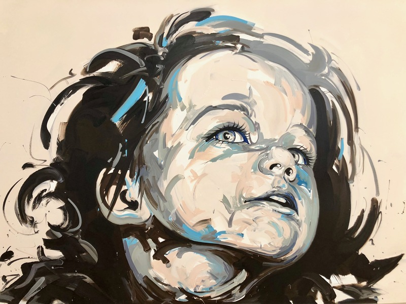 Thierry DUSSAC - Peinture - Amicie