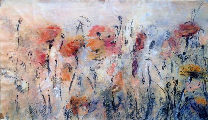Nathalie GRANGE - Gemälde - Rêverie VI