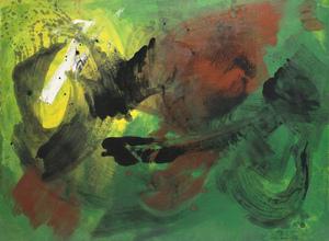 Gérard SCHNEIDER - Painting - Untitled