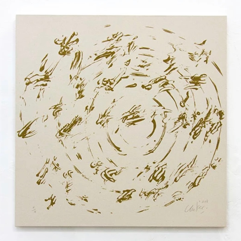 Günther UECKER - Print-Multiple - Ouroboros #5