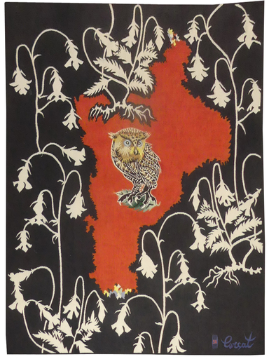 Jean LURÇAT - Tapestry - la nuit s'ouvre