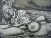 Ernst FUCHS - Druckgrafik-Multiple - The Prison of Ikarus