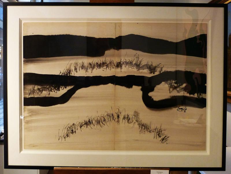 T'ANG Haywen - Drawing-Watercolor - Paysage
