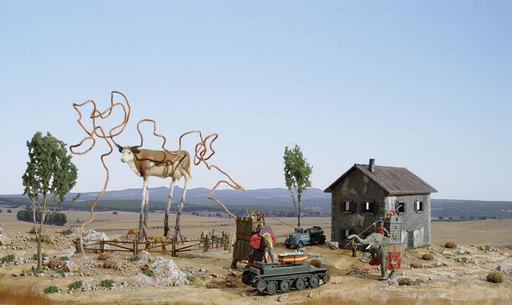 Oscar SECO - Escultura - Vaca Maldita