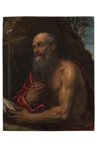 IL VERONESE - Peinture - San Girolamo penitente