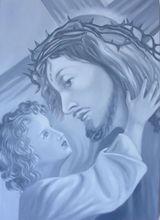 Gian Marco MONTESANO - Pintura - Cristo