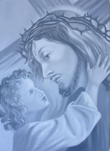 Gian Marco MONTESANO - Painting - Cristo