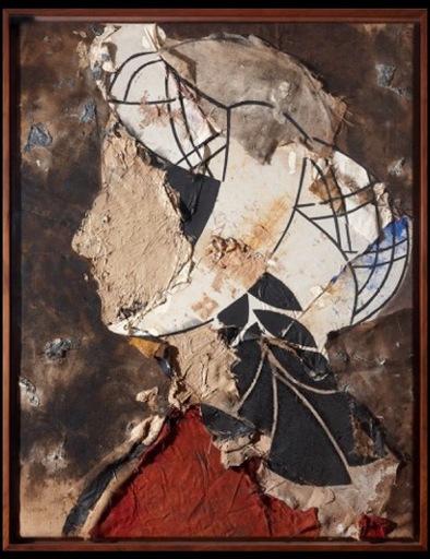 Manolo VALDÉS - Painting - PERFIL DE DAMA