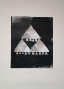 Heinz MACK - Grabado - Das Hohelied Salomo III