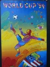 Peter MAX - Pintura - *World Cup '94