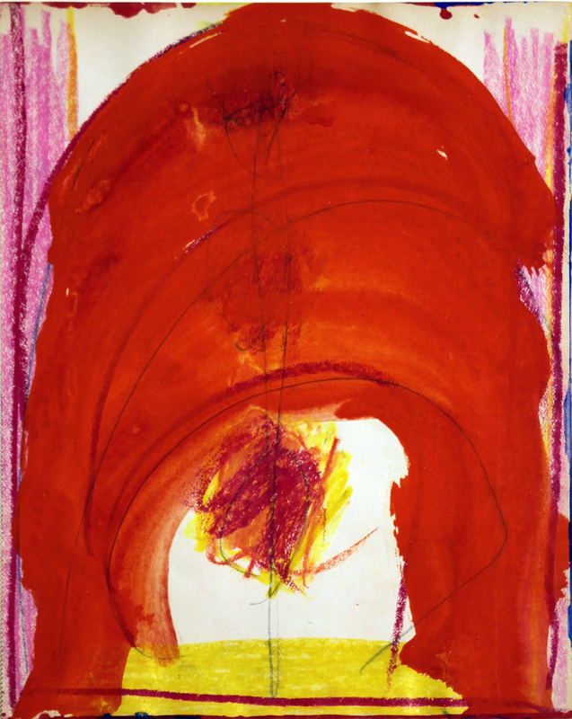 Kimber SMITH - Dibujo Acuarela - Orange Arch