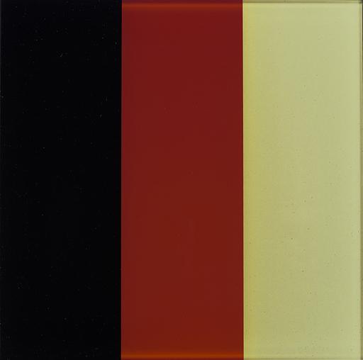 Gerhard RICHTER - Print-Multiple - Black-Red-Gold IV   Schwarz-Rot-Gold IV