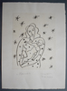Henri MATISSE - Stampa Multiplo - Virgin and Child on Starry Background