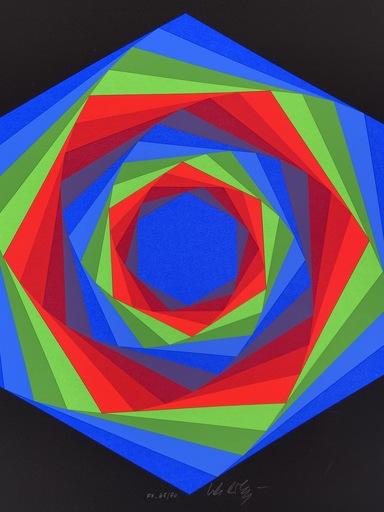 Victor VASARELY - Estampe-Multiple - Vasarely - Cinétique 7