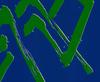 DI SUVERO Mark - Estampe-Multiple - Green Fire (lithograph)