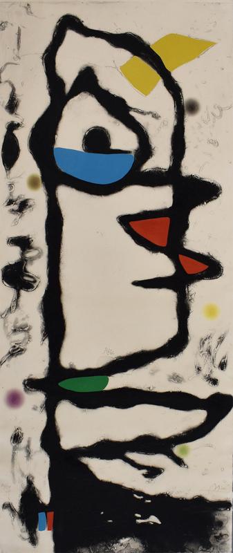 Joan MIRO - Estampe-Multiple - Composition XIII, from: Barcelona
