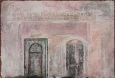 Piero MOSTI - Painting - Muro con due porte