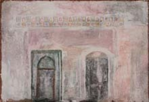Piero MOSTI - Pintura - Muro con due porte
