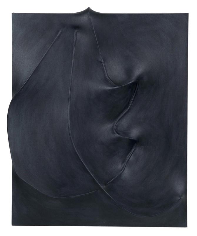 Agostino BONALUMI - Painting - Nero