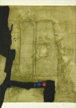 Antoni CLAVÉ - Grabado - Table et toile de sac