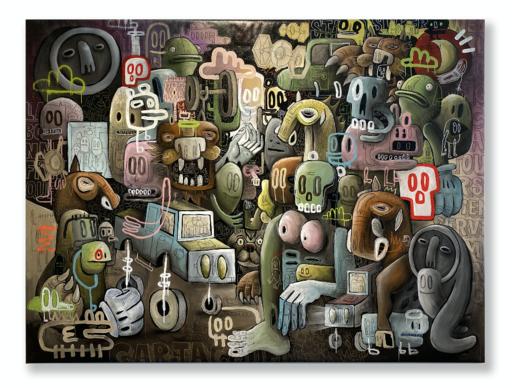 Guillaume GARRIÉ - Painting - La bonne franquette