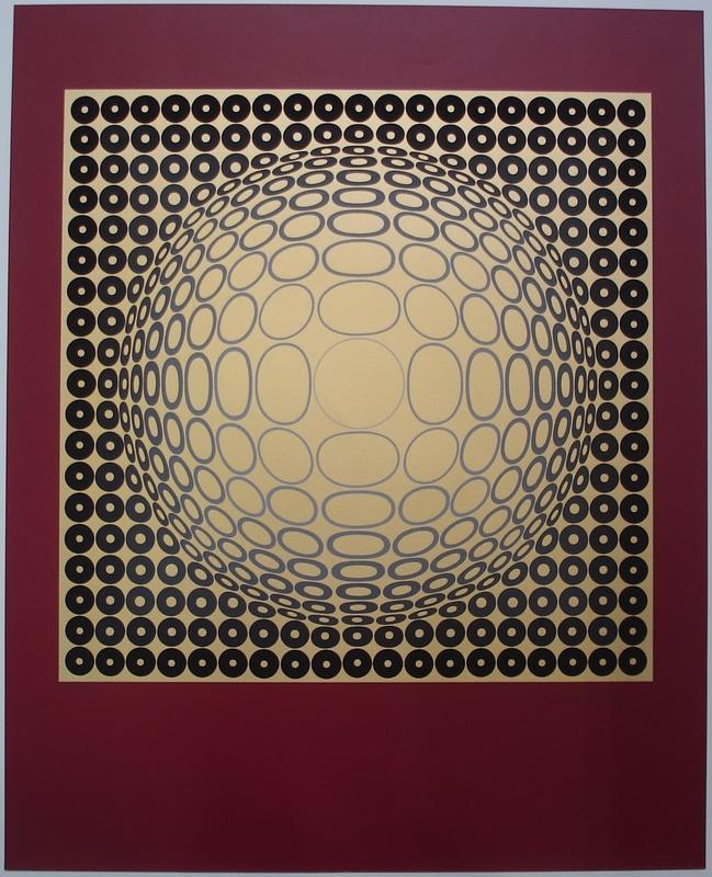 维克多•瓦沙雷利 - 版画 - Nobel