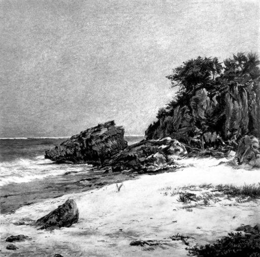 Guillaume MONTIER - Drawing-Watercolor - « La tristesse de Montezuma »