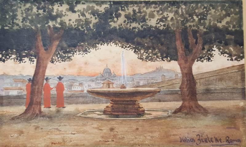 Julius ZIELKE - 绘画