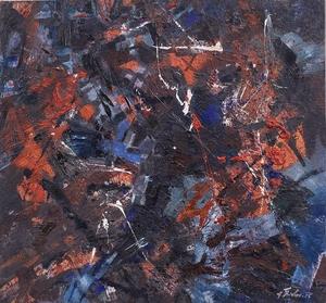 Fred THIELER - Pintura - Antikes Bunt