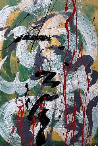 Marie Edmée SEGUIN - Painting - Il Est Temps De Rallumer Les Etoiles n°31